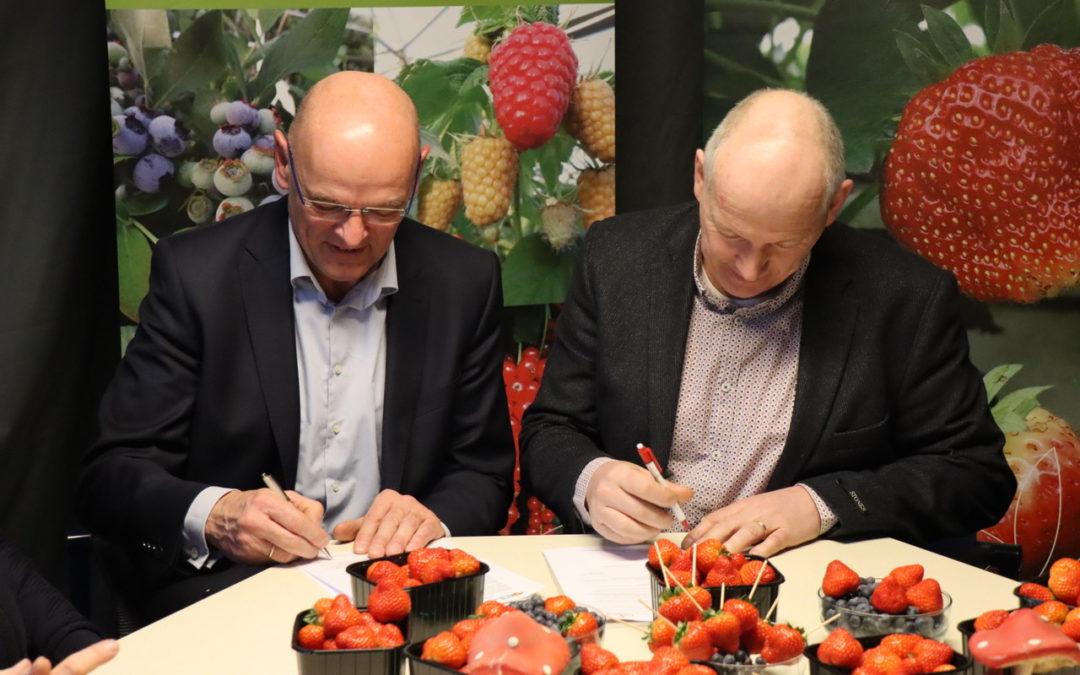 Delphy & Berry Promotions slaan handen ineen