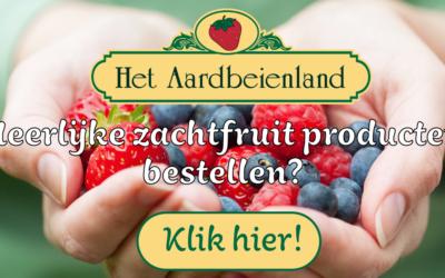 Zachtfruit webshop Het Aardbeienland online!
